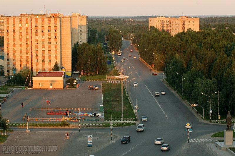 Фото города Стержевой